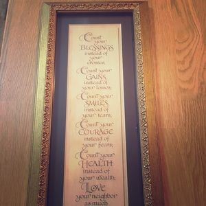 Blessings Wall Decor